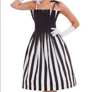 Tatyana black and white Dress